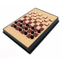 Jogo De Xadrez Magnético Peças Plásticas Com Imã 5 Em 1