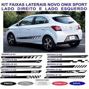 Acessorios Faixa Adesivo Onix Sport Chevrolet Gm 2017