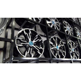 Jogo Roda Audi Rs3 Aro15 4/5furo Clio Logan Etios City+ Pneu