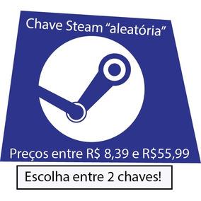 Chave Aleatória Steam - Entre R$ 8,39 E R$55,99