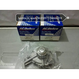 Bomba Agua Spark 96666219 Acdelco Original