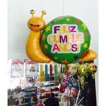 Globos Feliz Cumpleaños Caracoles