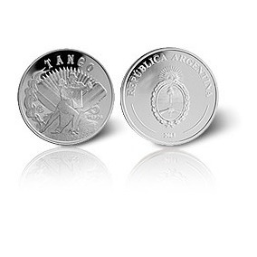 Moneda De Plata Tango Fabulosos 15 Agotada !!!