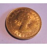 Moneda De Gran Bretaña - 1 Soberano De Oro - Año 1959