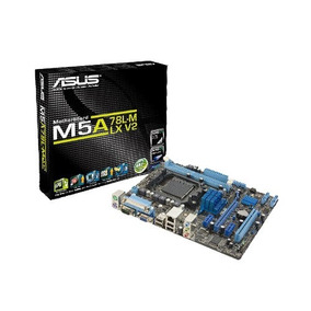 Mother Asus M5a78l-m Lx V2 Amd Fx Athlon Phenom Sempron