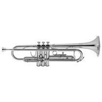 Trompeta Sib Jupiter Plata Con Estuche Jtr-500 S