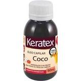 Óleo De Coco Keratex 60 Ml 100% Natural C/ 06 Frascos
