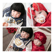2 Bebê Reborn Casal Gêmeos Sem Acessorios
