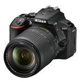 Cámara Nikon D5600 18-140 3 Baterias Sd64 + Tripode + Bolso