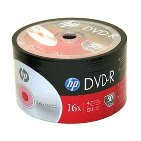 Dvd -r Hp Estampado 4.7gb 16x Oferta X50 Unidades