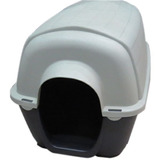 Cucha Térmica De Plástico Para Perros 80x50x50. Zona Sur!