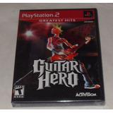 Guitar Hero Nuevo Ps2 - Sony Playstation 2
