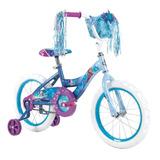 Bicicleta Infantil De Disney Frozen Con Canasta Huffy R16
