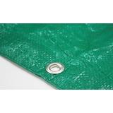 Rafia P/cerco 1,50 Mt Verde 150 Grs Ojal Aluminio Oferta!!