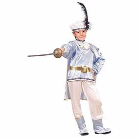 Disfraz De Principe Medieval Renacimiento Para Niños