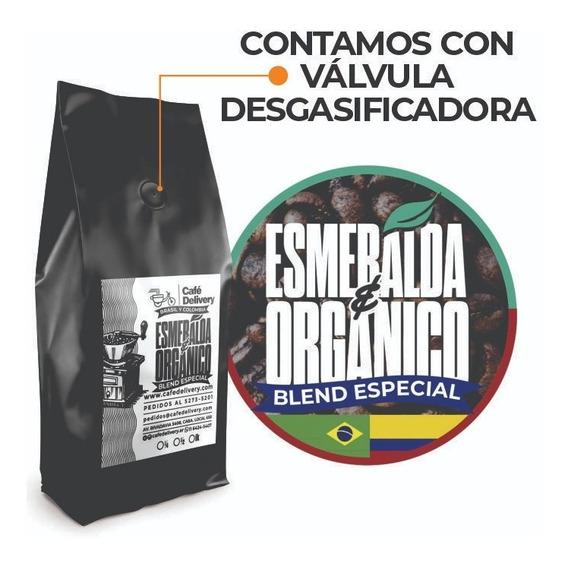 Café Blend Esmeralda Y Orgánico 1kg Envío Gratis Caba