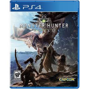 Monster Hunter World Ps4 - Ori1 - Com Garantia - Legendado