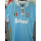Camiseta Retro Napoli Diego Armando Maradona