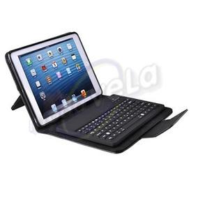Funda Piel Con Teclado Bluetooth Para Galaxy Tab 8.9