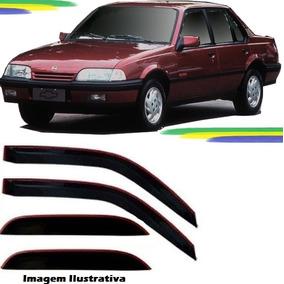 Kit Defletor Calha De Chuva Gm Monza Tubarão 1982 A 1996