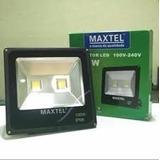 Refletor Led 100w Maxtel + Rele Fotocelula Branco Frio