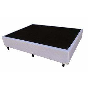 Base Cama Box Para Colchao Casal 1,38 X 1,88 - Téta Flex