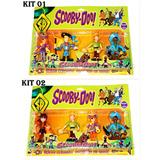 Scoobydoo Kit Com 04 Bonecos Articulados Roupas De Piratas