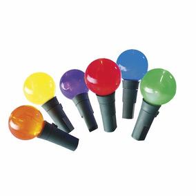Serie De 100luces Led Multicolor En Forma Baya De 10m Largo