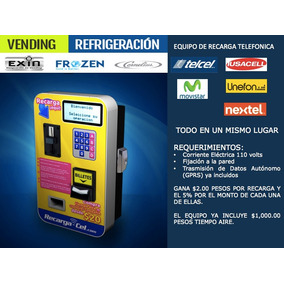 Maquina Expendedora/vending De Tiempo Aire