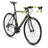 Bicicleta De Ruta Alubike Onix Talla 56 Grafito/verde