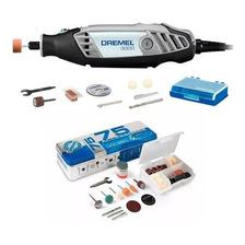 Dremel 3000 + Kit 75 Accesorios + Mandril Dremel F0133000ci