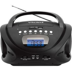 Rádio Am Fm Mp3 Com Entrada Usb E Auxiliar Vc-5060 Vicini