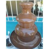 Locação De Cascata De Chocolate + 1 Kg De Chocolate Nestlé