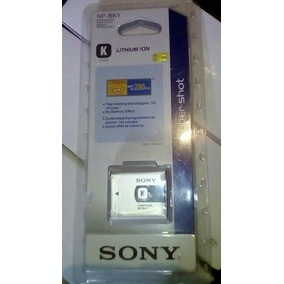 Bateria Pila Sony Recargable Np-bk1 Tipo K Camara Dsc-s750