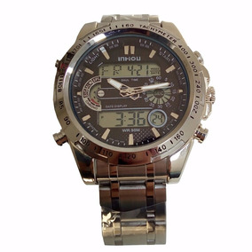 Relógio Importado Militar Inhou Prova Dágua Masculino Barato