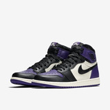 Tenis Nike Air Jordan 1 Og Purple Court Ds 42 Novo Retro