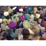 Variedad De Piedras Semipreciosas Roladas 1 Kgrs Hermosas !!