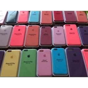 Case Silicona Iphone 5/5s 6/6plus 7/8 7/8plus/x + Mica Vidri