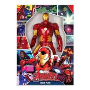 Boneco Homem De Ferro 50cm Iron Man Revolution Mimo