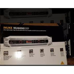 Amplificador De Potencia Bheringer Inuke Nu6000 Dsp
