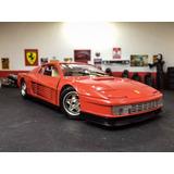 Ferrari Testarossa 84-burago 1/18. Impecable En Caja!!!!!