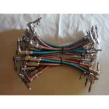 Patch Cable Para Pedales Plug Importado Tipo Fender