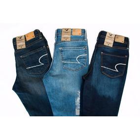 American Eagle Skinny Pack 2 Jeans Dama. Envio Gratis. Msi