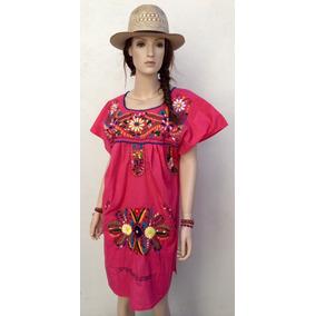 Mini Vestidos Bordados Mexicanos Artesanales Puebla