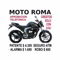 Yamaha Fz 16 Fi Patente $4.300