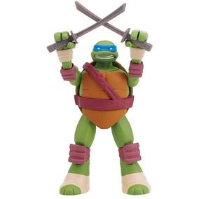 Boneco Tartarugas Ninja - Figura De Ação 12cm - Leonardo Com