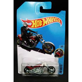 Hot Wheels 2017 Moto Blast Lane T-hunt Vermelha 1/64 R14