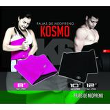 Faja Reductora Kosmo Neopreno Marca K6. Ideal Para El Gym.
