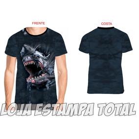 Camiseta Tubarão 3d 02