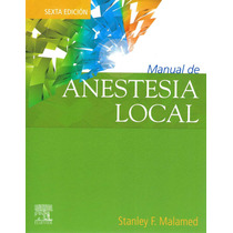 Malamed Manual De Anestesia Local Elsevier !!originales!!
